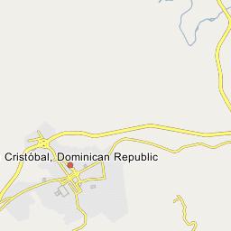 Dominican map republic alcarrizos santo domingo los Los Alcarrizos