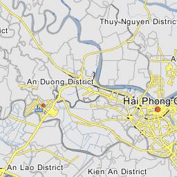 Haiphong Vietnam Map.Hai Phong Map Map Of Hai Phong City