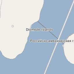 Ratmanov Island (Big Diomede Island) on
