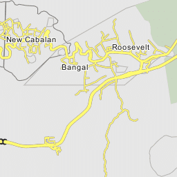 Olongapo Philippines Map.Santa Rita Olongapo