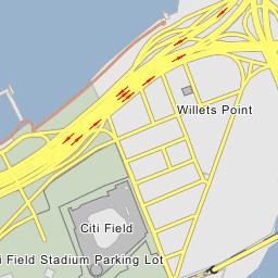 Citi Field Stadium Parking Lot - New York City, New York on