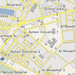 Ajman Industrial 1 | industrial district, town district